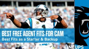 Finding the Best Fit for Free Agent QB Cam Newton