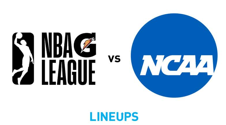 g league vs ncaa