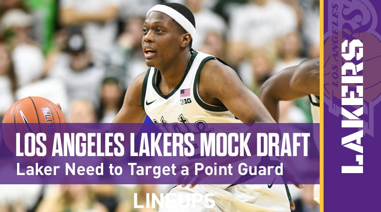 los angeles lakers mock draft