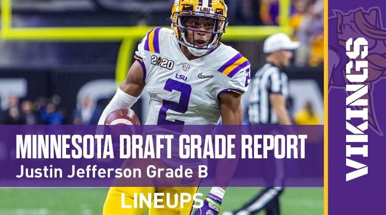 minnesota vikings draft grade