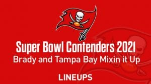 NFL Contenders for Super Bowl in the 2021 Season: Brady & Tampa Bay in the Mix