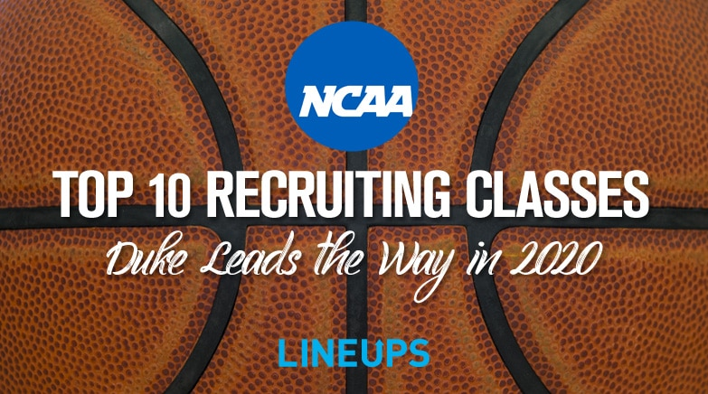 top 10 ncaa basketball recruitingclasses2020