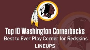 Top 10 Washington Redskins CBs of All Time