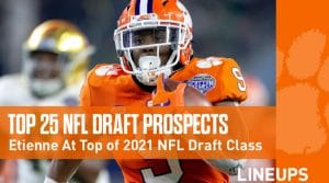 Top 25 NFL Draft 2021 Prospects