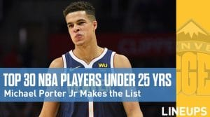 The NBA's Best 30 Players Under 25 Years Old