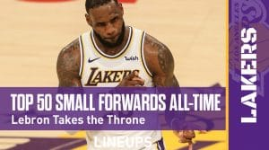 Top 50 Small Forwards in NBA History: King James Takes the Throne