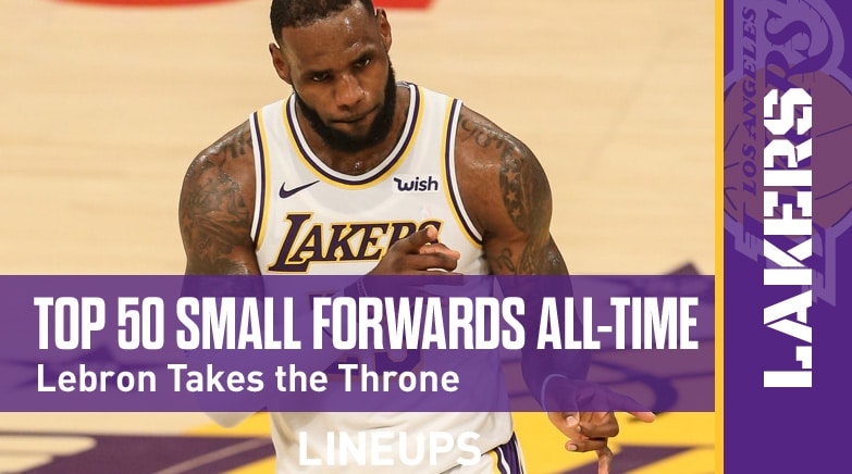 top 50 small forwards all time