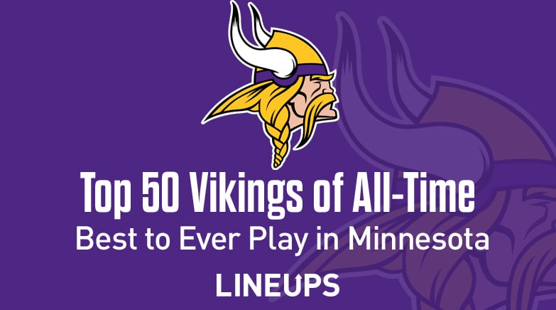 top 50 vikings all time