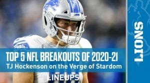 Top 5 NFL Breakout Players for the 2020-21 Season