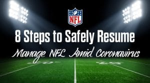 8 Steps to Safely Manage an NFL Season During Coronavirus