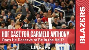 Is Carmelo Anthony a Hall of Famer?