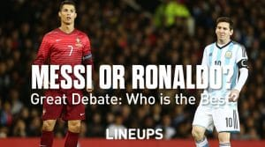 Who is Better Messi or Ronaldo? The Great Debate is Settled