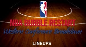 NBA Bubble Restart Primer: Western Conference Breakdown