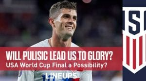 Will Pulisic Lead the USA to Glory in World Cup 2022?