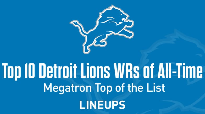top 10 detroit lions wr all time
