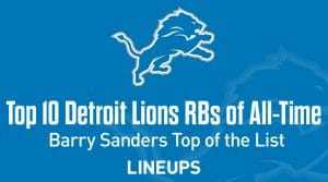 Top 10 Lions RBs of All-Time
