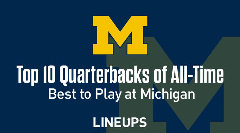 top 10 michigan qbs all time