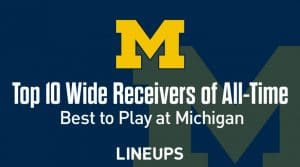 Top 10 University of Michigan Wide Receivers of All-Time