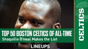 Top 50 Greatest Boston Celtics Players