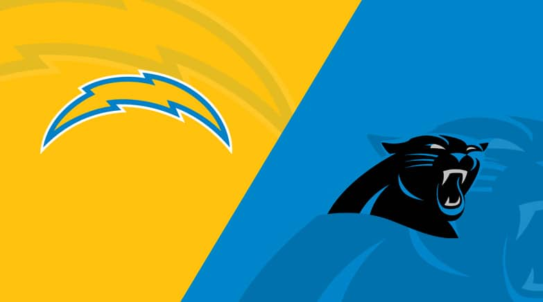 chargers vs panthers