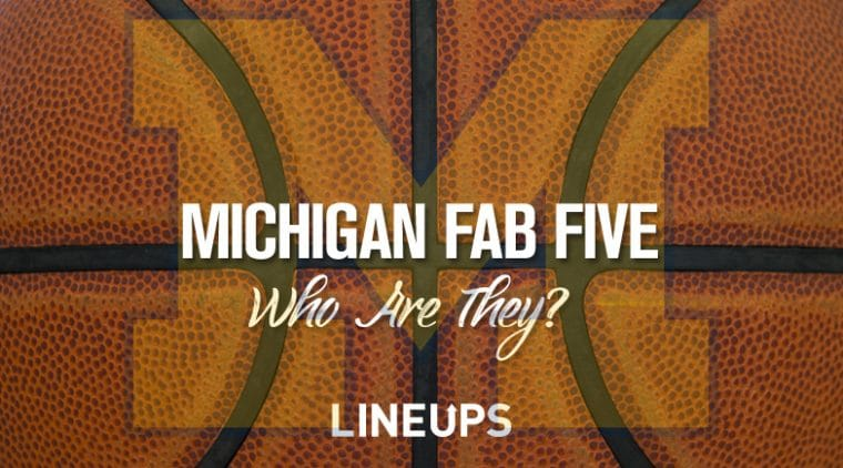 Michigan Wolverines Basketball: Who are the Fab Five?