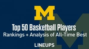 Top 50 Best University of Michigan Basketball Players of All-Time
