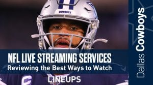 NFL Live Streaming Services Review: Best Apps to Watch NFL Online