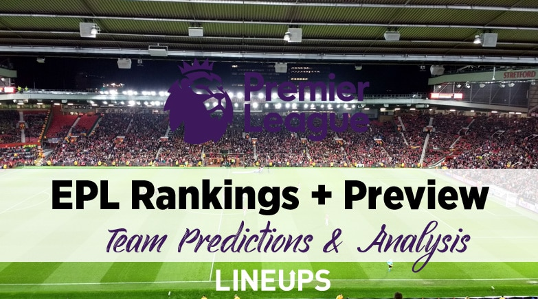 premier league rankings