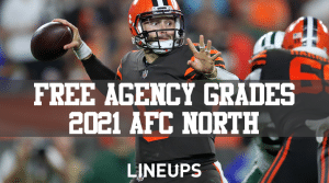 2021 NFL Free Agency Grades: AFC North