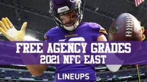 2021 NFL Free Agency Grades: NFC North