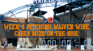 MLB Week 4 Pitching Waiver Wire: Grab These AL Central Pitchers