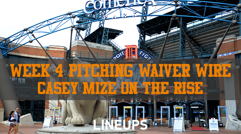 Week 4 Pitching Waiver Wire
