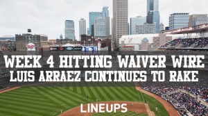 MLB Week 4 Hitting Waiver Wire: Jump on the Twins' Leadoff Hitter