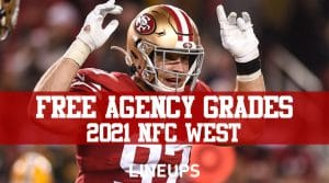 NFL 2021 Free Agency Grades: NFC West