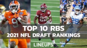 Top 10 RB 2021 NFL Draft Prospects