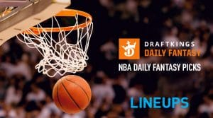 NBA DraftKings DFS Lineup Picks 9/25/20