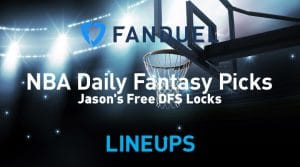 FanDuel NBA Daily Fantasy Picks 3/10/20
