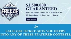 February Freeze – DraftKings Daily Fantasy Contest Promotions