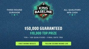 King of the Baseline – DraftKings Fantasy Tennis Promotion