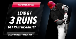 lead by 3-runs early payoutpointsbet