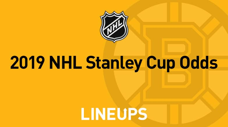 2019 NHL Stanley Cup Odds 1