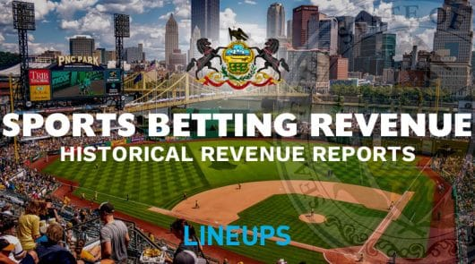 Pennsylvania Sports Betting Revenue (Updated)