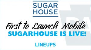 SugarHouse First To Launch Online Sportsbook In Pennsylvania