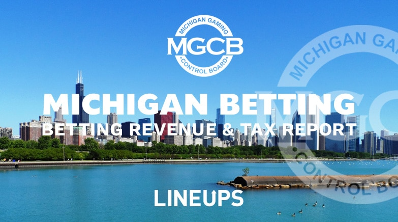 michigan-sports betting revenue report