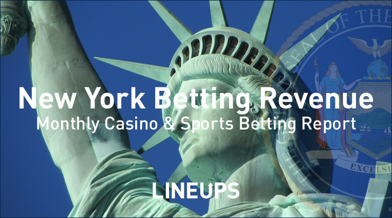 new york-sports betting revenue report