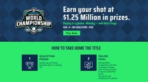 DraftKings Fantasy Golf World Championship