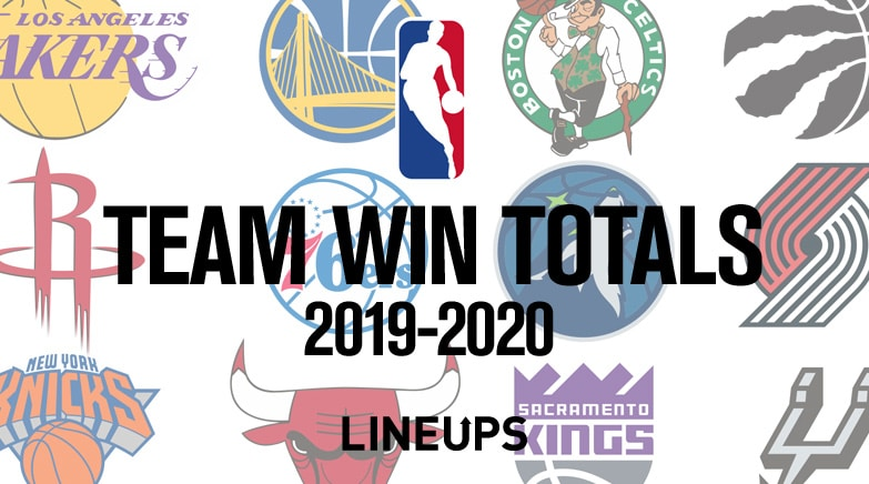 nba team win totals 2019