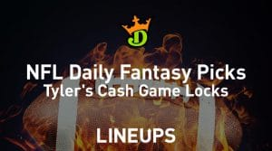 DraftKings NFL Daily Fantasy Cash Game Picks (Divisional Round)