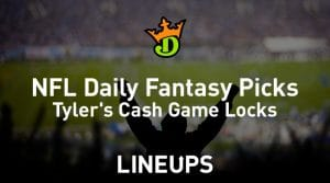 DraftKings NFL Daily Fantasy Cash Game Picks Week 3