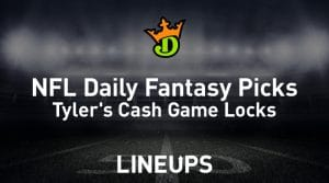 DraftKings NFL Daily Fantasy Cash Game Picks (Wild Card Round)